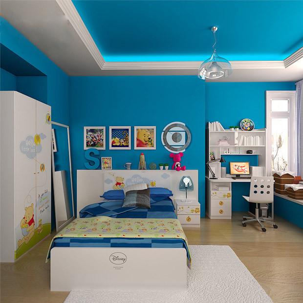 24种时尚儿童房设计方案作为如何设计儿童房参考案例