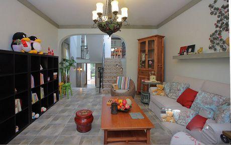 家装走廊地砖造型
