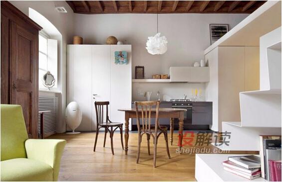 意大利复古又时尚的现代风格公寓室内设计